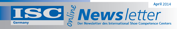 Der Newsletter des International Shoe Competence Centers